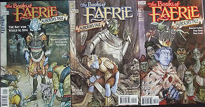 BOOKS OF FAERIE:AUBERONS TALE 1,2,3...NM-...1998...Peter Gross...Bargain Set!
