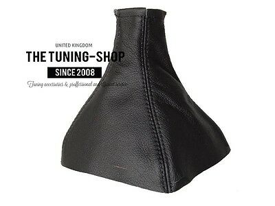 For Vauxhall Opel Tigra 04-09 Twintop B Black Leather Gear Gaiter Boot Cover
