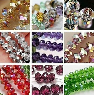 Wholesale Crystal Multicolor  Loose, Bead 4mm- 12mm