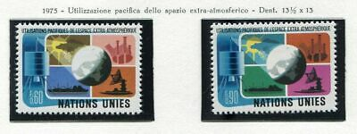 19534) UNITED NATIONS (Geneve) 1975 MNH** Peaceful use of space