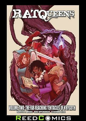RAT QUEENS VOLUME 2 FAR REACHING TENTACLES OF NRYGOTH GRAPHIC NOVEL Paperback