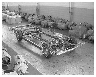 1962 Oldsmobile Chassis Automobile Factory Photo ch7719