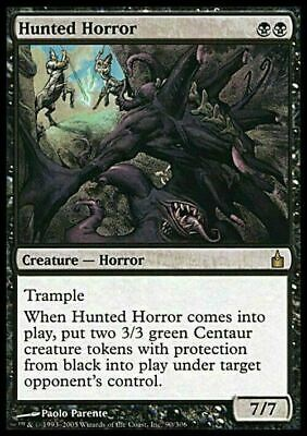 Hunted Horror ~ Ravnica ~ NearMint/Excellent+ ~ Magic The Gathering
