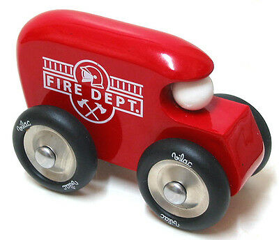 vilac Fire Departament Wooden Car Model made in France GREAT TOY