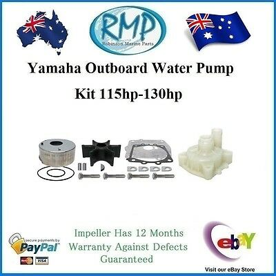 A Brand New Yamaha Water Pump Kit 115hp-130hp # R 6N6-W0078-00 + 61A-44311-00