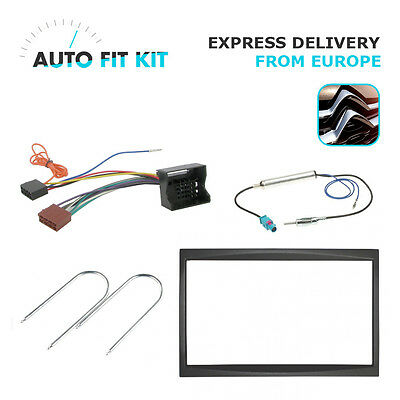 Citroen C2 C3 C4 2 2002 -  2 Din Double DIN Fascia Radio Stereo Replacement Kit