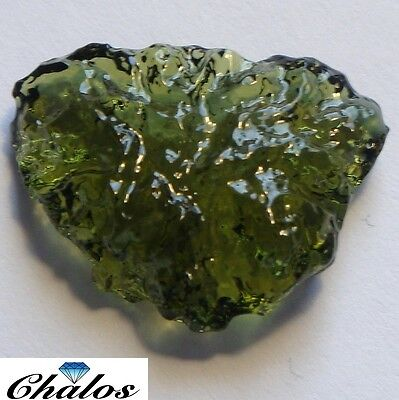Moldavite - Fantasie  20,69ct  24,11x18,86x6,45 mm(2242)