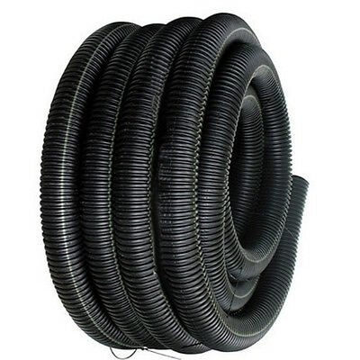 "50' Feet FT 3/8"" Black Split Loom Wire Flexible Tubing Conduit Hose Car Audio"