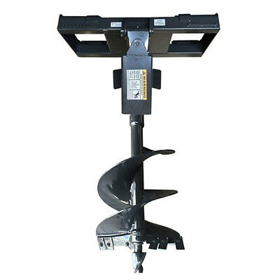 """Skid Steer Auger and Quick Attach Frame, 18"""" Bit Included, Free Shipping in USA!"""