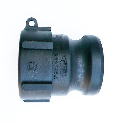 "Part A. Ibc Camlock Adapter.  S60X6 2"" Coarse Thread To 2"" Male Camlock"