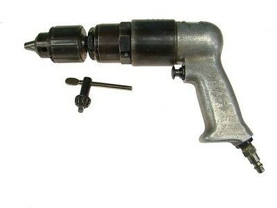 "Rockwell 500 RPM Pneumatic Drill 1/2"" Chuck Aircraft Tools Air Drill"