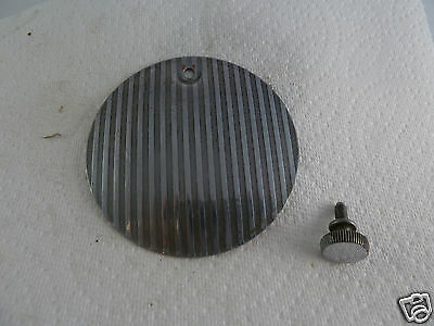 Singer 15-91 Part Rear Access Cover Plate w Striated Finish