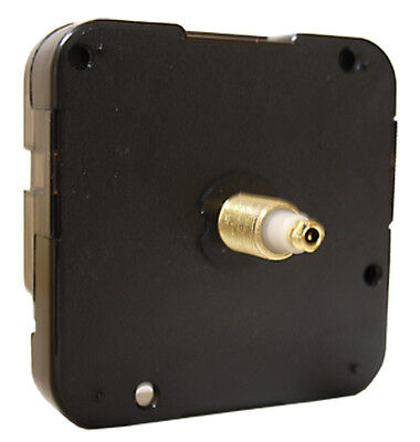 NEW Continuous Sweep Silent Clock Movement Kit w/ Hands! Choose 4 Sizes! MTW-80