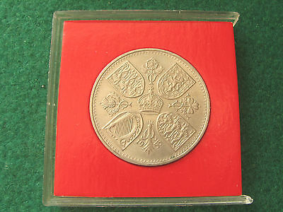 1953 - Queen Elizabeth II - Uncirculated - Coronation Crown - SNo28379