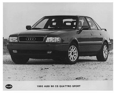 1993 Audi 90 CS Quattro Sport Automobile Factory Photo ch7568
