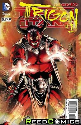 TEEN TITANS #23.1 TRIGON 3D MOTION COVER (1st Printing) by DC Comics