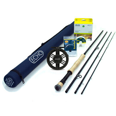 NEW - Echo Base 890-4 Fly Rod Outfit - FREE SHIPPING!