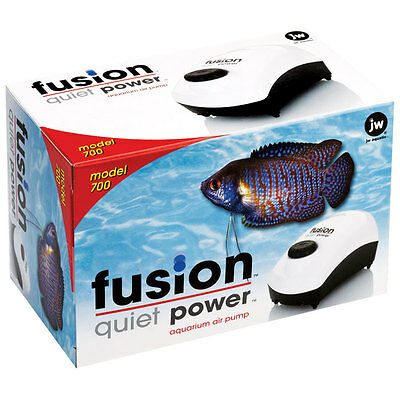 Fusion 700 air pump from JW Pet, modified by Santa Monica Filtration