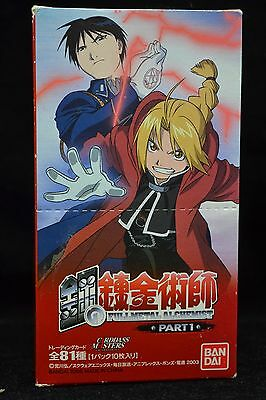 Fullmetal Alchemist Carddass Masters Trading Cards Part 1 Box 15 Packs Japanese