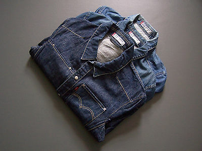 Levis 70100 Engineered Denim Trucker Jackets XS Small Medium Large  XL XXL #