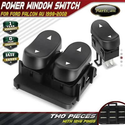 Set of 2 Double+Single Power Window Switches for Ford Falcon AU 1998-2002