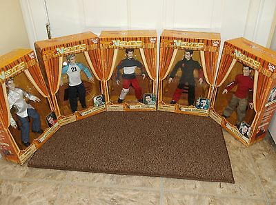 Nsync Collectible Marionette Dolls, Set Of All 5, All Are Still In Original Box!