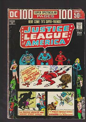 Justice League of America # 110  100 page issue grade 2.5 scarce hot book !!