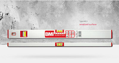 New Bmi Eurostar Magnetic Box  Level 2 Vials And Additional 2% Markings