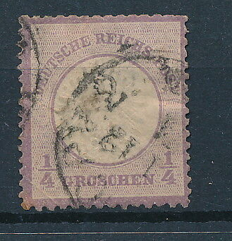 [2666] Germany 1872 good stamp fine/very fine used value $130