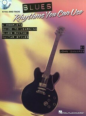 Blues Rhythms You Can Use - A Complete Guide To Learnin... Gitarre Notenbuch, CD