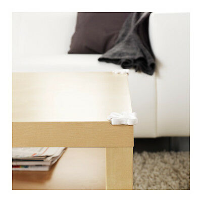 New Ikea 8 Pack Patrull White Child Safe Table Corner Per