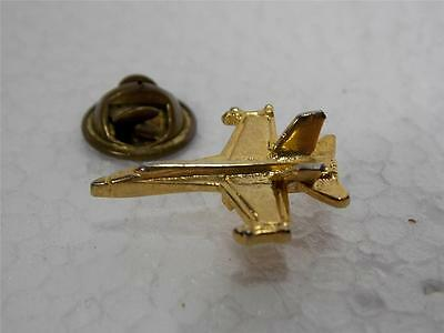 SMALL JET FIGHTER MILITARY HAT JACKET LAPEL TIE PIN PINBACK BUTTON NEAT