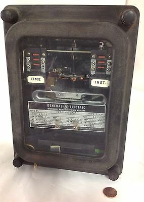General Electric * Overcurrent Relay With Voltage  * 12Ijcv1B23A