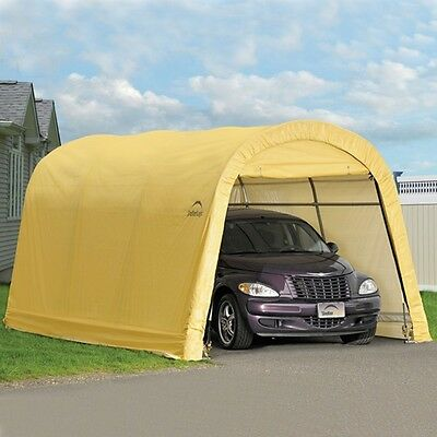Outdoor Car Storage >> Outdoor Car Garage Storage Portable Canopy Shelter Carport Shed Auto 10 X 15 X 8