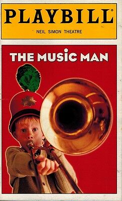 The Music Man Broadway Playbill - Craig Bierko