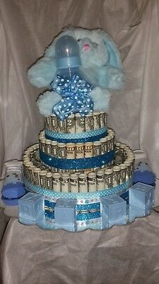 Real money cake baby shower gift . Great for corporate gifts