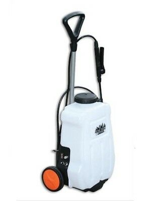 12v Electric Backpack Garden Weed spot Sprayer Tank With Trolley By Rapid Spray