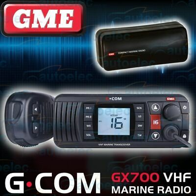 Gme Gx700B Boat Marine Vhf Radio Waterproof New Two Way Off Shore Replaces Gx600