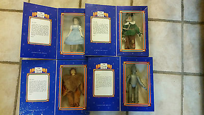 Wizard of Oz Ideal Limited Edition Dolls - Complete Set