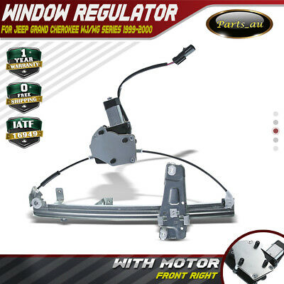 Window Regulator with Motor for Jeep Grand Cherokee WG WJ 1999-2000 Front Right