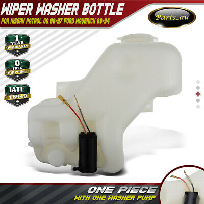 Wiper Washer Bottle for Nissan Patrol GQ Y60 Ford Maverick 88-97 UTE With 1 pump