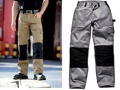 Reduced Dickies Grafter Duotone Cordura Trousers Grey/khaki/black Super Action