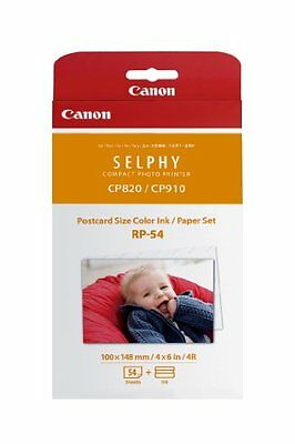 Canon RP-54 High-Capacity Color Ink/Paper Set for SELPHY CP910 Printer #8567B001