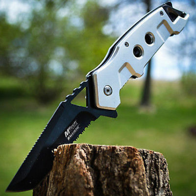 """8.5"""" SPRING ASSISTED OPEN Tactical Tanto Blade FOLDING POCKET KNIFE Switch"""