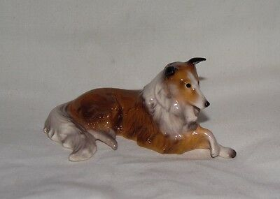Hagen Renaker Dog Collie Pedigree Line Figurine Miniature 01006 Ceramic