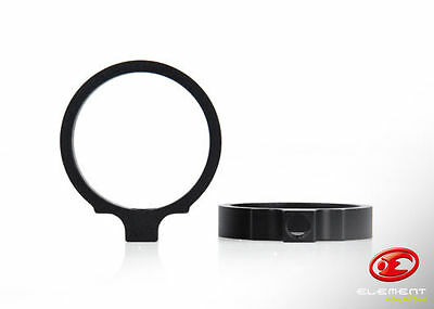 Element EX310 Mount Ring for LT Style Light Mount (1.04 inches)(2 Pcs Set) - BK