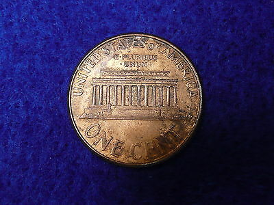 USA 2001 Cent Lustre