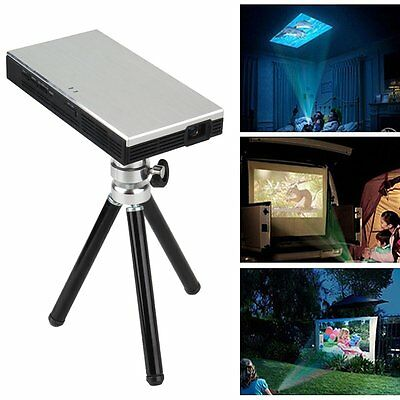 Pocket Mini HD Multimedia DLP Projector HDMI For iPhone Android Tablet Laptop PC