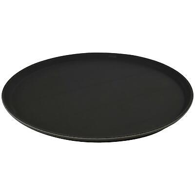 "Round Non-Slip Waiter Serving Drinks Food Restaurant Tray - 40cm (16"")"