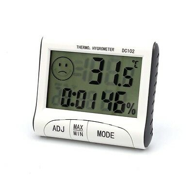Mini Digital Thermometer Humidity Meter Room Temperatur Indoor LCD Hygrometer UK